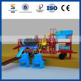 SINOLINKING Alluvial Small Scale Portable Mobile Mini Gold Trommel Wash Plant with Heavy Duty Feed Hopper