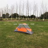 1 person camping tent, double layer aluminium pole tents
