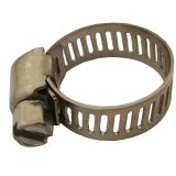 Stainless steel W2 American type hose clamp