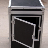 Stackable Flight Case Silver / Black Color Concert Subwoofers Case