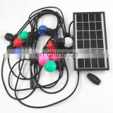 Energy Saving RGB Solar Powered string light with Remote Control for Halloween Christmas Party Lights