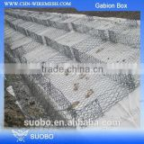 Alibaba China Sale Hexagonal Gabion Basket, High Quality Gabion Box, Plastic Coated Gabion Mattress
