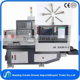 sliding head 5 axis double shaft machine for medical screws