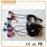 Great Sound Super Bass Headphone Earphone with Braided cable