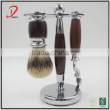 professional shaving brush and razor set ,badger hair shaving brush set wholesale , metal shaving razor & shaving brush set