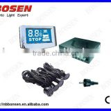 LCD Parking Sensor,blue screen,dual CPU, 4sensor system
