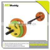 Used olympic barbell 20kg with spring collars