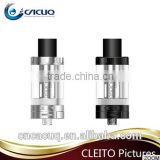 Wholesale top selling cleito aspire cleito 3.5 ml tank --- celito tank with dual clapton coil