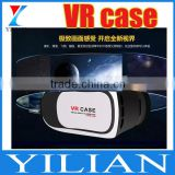 VR Case BOX Google Virtual Reality 3D Glasses Head-mounted 3D Video Movie Game Glasses for iPhone Samsung 3.5-6.0 inch Smart Pho