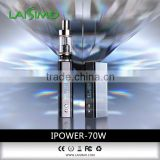 LAISIMO new products 60W temperature control e cig box mod pure titanium wire 2015 new product