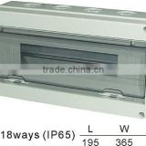 HT-18ways Distribution Box(Electrical Distribution Box,Plastic Enclosure)
