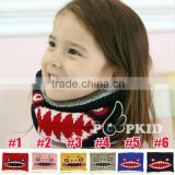 Monster Knitted Circle Loop Children Winter Scarf