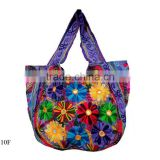 Fashion lady Women hobo canvas handbag purse messenger beaded potli designer bohemian banjara bags