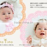 Japanese wholesale products high quality cute chiffon baby hair accessory headband for toddler clothes infant wear kids clothing