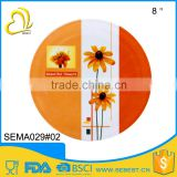 wholesale alibaba cheap round melamine custom printed placemats