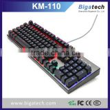 104keys RGB Backlight Mechanical gaming keyboard                                                                         Quality Choice