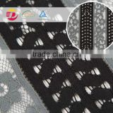 wholesale cheap black embroidered lace fabric stock                                                                                                         Supplier's Choice