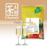 Taiwan Bubble Tea Materials Champagne Flavored Instant Soft Drink Powder