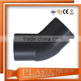 ISO4427/ISO4437 Hdpe /Pvc/Plastic Plumbing Fittings For Water/Gas/Oil Supply (Butt Fusion Fittings)