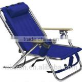 Shoulder Straps Portable Aluminium Backpack Folding Beach Chair For Promotion