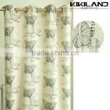 Latest design chinese patterns modern living rooms curtains                                                                         Quality Choice