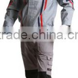 2015 Factory Workwear Suit Best Selling Customed Grey Split Work Clothes OEM ODM Uniform