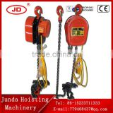 electric crane with wireless remote control DHS type 10t 15t 20t capacity 6M low price electric chain hoist with steel hook