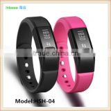 2015 new OLED bluetooth smart bracelet watch bluetooth projector,bluetooth smart bracelet for android Ios.6