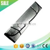 Hot sale cheap advertising front window PE foam car sun visor