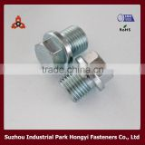 Carbon Steel Grade 10.9 Bolts Type Of Hex Flange Head With Hole Construction Made In China Mainland