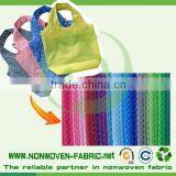 TNT manufactures Raw materials for shopping bags non breathable fabric