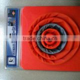 "42CM heigh traffic folding PP road cone in different packings/16"" indoor retracted road barrier"