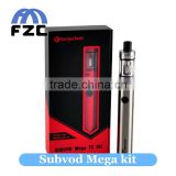 Newest tube mod supports SSOCC vaporizer smoking device kanger subvod mega VS ego aio kit