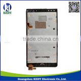 Original LCD Display with Touch Digitizer Screen and Frame for Nokia Lumia 920 Black