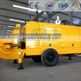 High Quality Small trailer mounted concrete pump supplier.