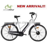 "NEW ARRIVAL!!! 2014 tube battery Nexu inner 7 speed 28"" luxury electric bicycle germany                                                                         Quality Choice"
