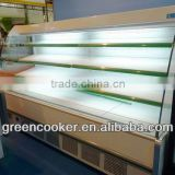 display fruits and vegetables refrigerator showcase for commercial bakery used