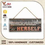 Top Seller Good Quality Handmade Wall Plaque Sign Home Decor Mirror