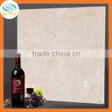 Cream color 24x24 32x32 full polished porcelain spanish travertine glazed ceramic tile flooring