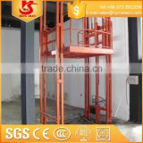 4-12m high configuration guide rail chain lifting equipment/material handling goods lifts                                                                         Quality Choice