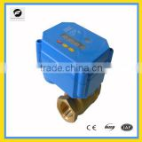 Electrical motor ball valve 3/8'' with timer Brass/SS304 high quanlity