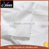white color for hand painting silk rayon blend chiffon fabrics