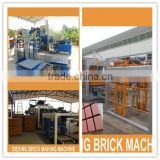 Automatic Concrete cement hollow Block Making Machine