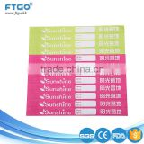 cheap price custom design popular tyvek paper event wristband