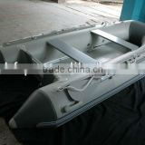 YHFRP 4m best selling inflatable rubber boat with aluminum hull
