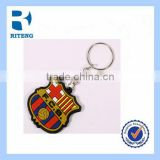 good quality and low price football team clubs key chain ring