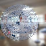 Cheap clear inflatable zorb ball for sale