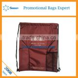 China manufacturer fashion drawsring bags dust bags water proof drawstring bag