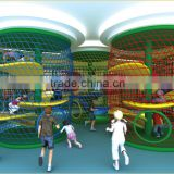 KAIQI classic Adventure Island Series KQ50099A lovely children indoor challenge playground equipment with attractive actions