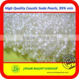 Factory price for bulk sodium hydroxide pearls flakes 99 in 25kg bag
